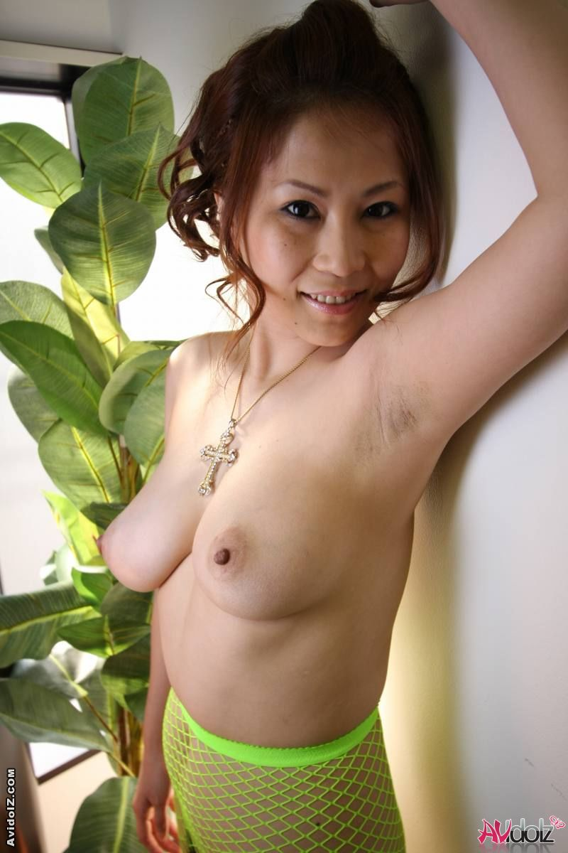 Japanese Hairy Milf Riding